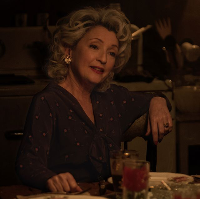 """lesley manville stars as """"blanche weboy"""" in director thomas bezucha's let him go, a focus features release  credit  kimberly french  focus features"""