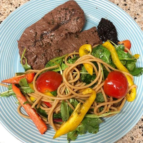 Dish, Food, Cuisine, Ingredient, Meat, Produce, Cherry Tomatoes, Lunch, Recipe, Vegan nutrition,