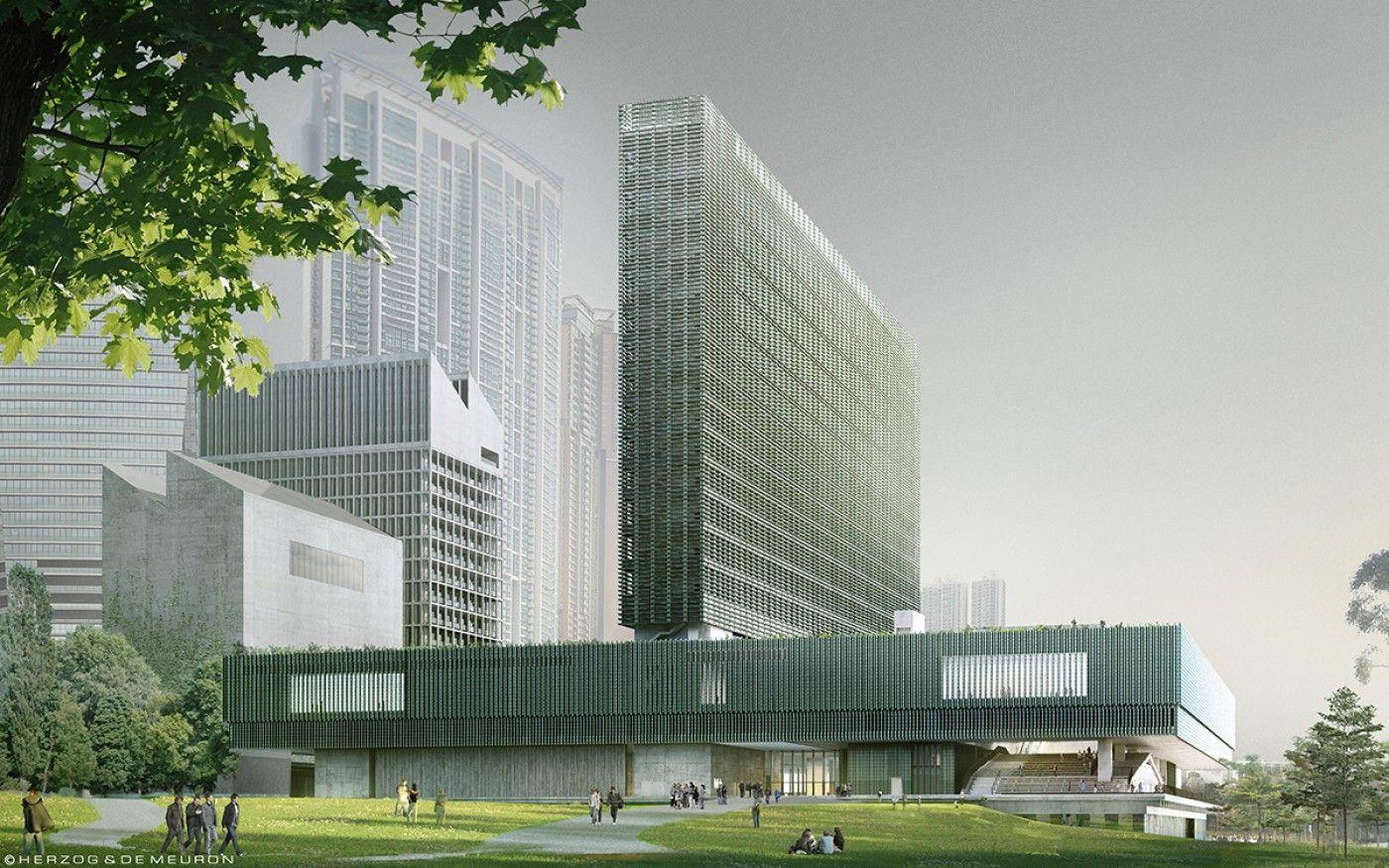 M +, Hong Kong, Herzog & de Meuron