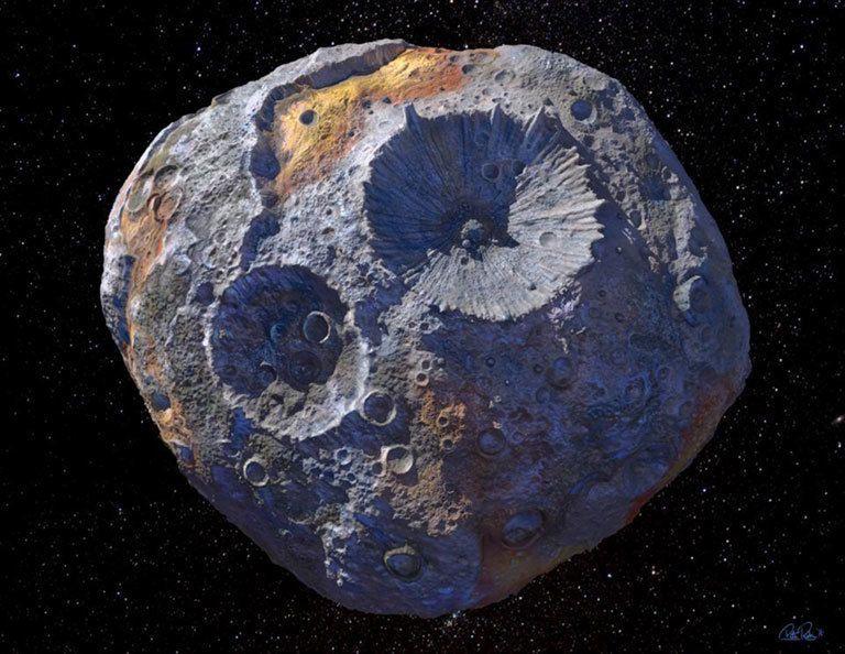 La Nasa ha scoperto un asteroide d'oro, che basterebbe a rendere milionario ogni essere umano