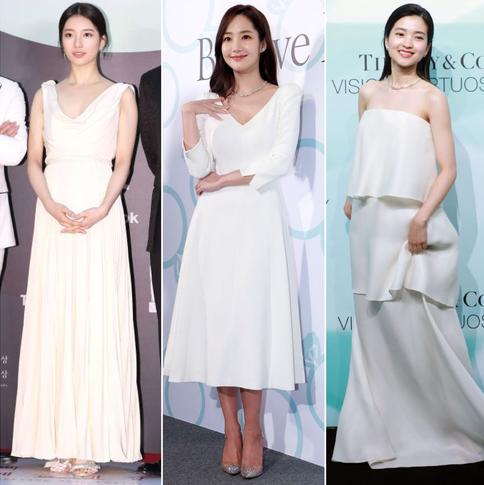韓国セレブの純白ドレスギャラリー