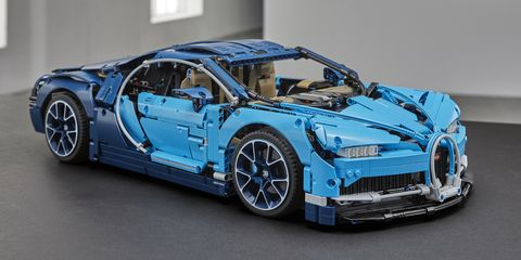The Lego Technic Bugatti Chiron Is Nearly as Detailed as the Real Thing