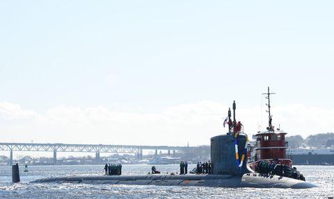 USS Minnesota (SSN-783) regresa del despliegue