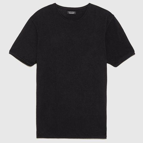 Camiseta punto Zara