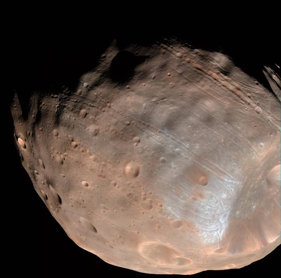 Everything You Could Possibly Want to Know About Martian Moons