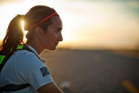 Woman to Run Tour de France Route