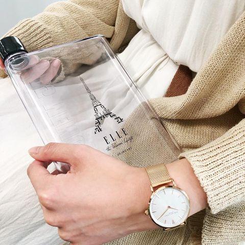 ELLE SKINCARE買小銀管就送MEMO時尚水壺