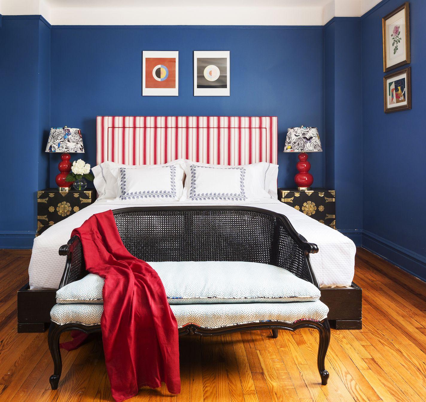 Best Blue Bedrooms - Blue Room Ideas Master Bathroom Design Dark Walls Gallery Html on