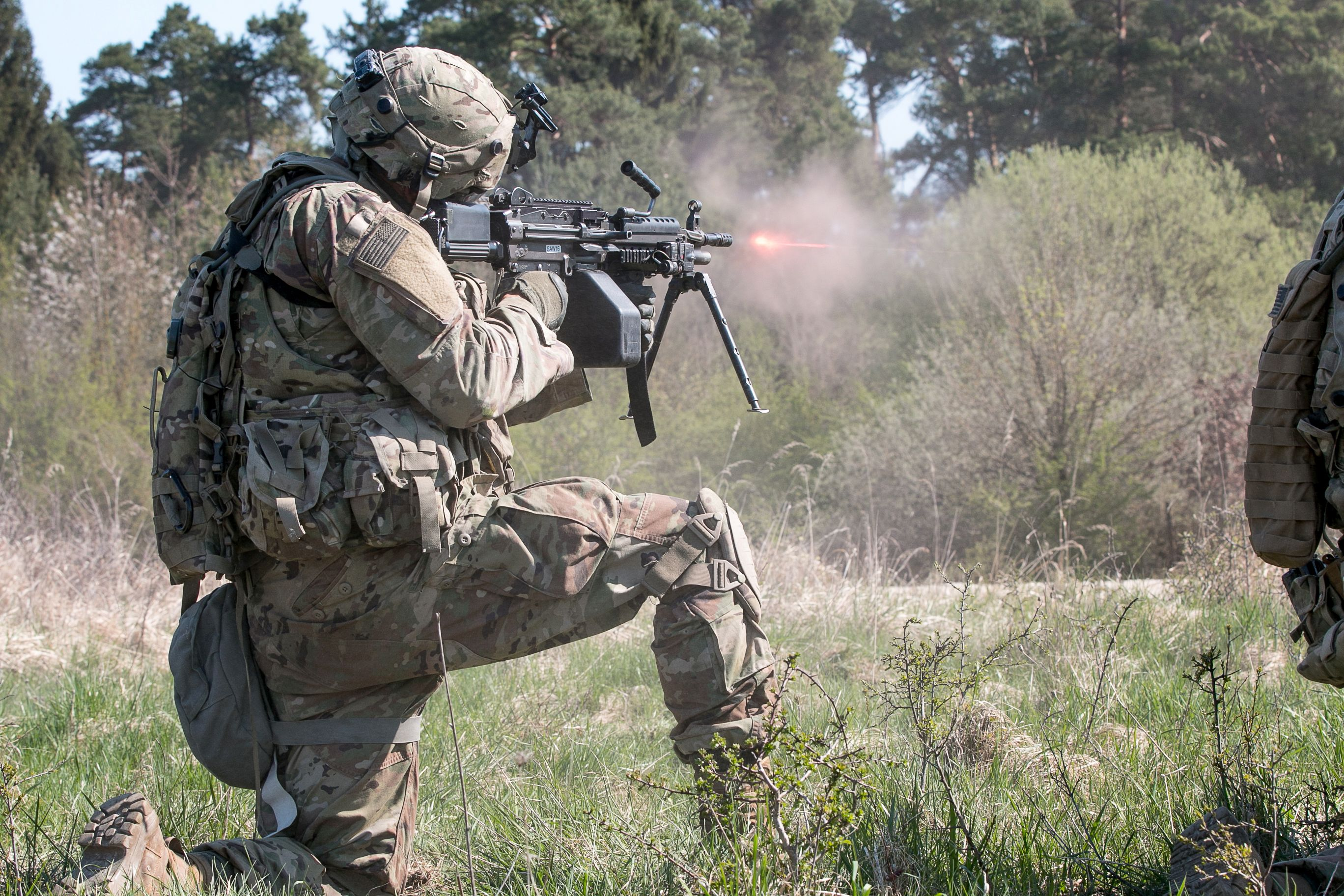 U S  Army Getting New Machine Gun Round, Special Ops Getting New