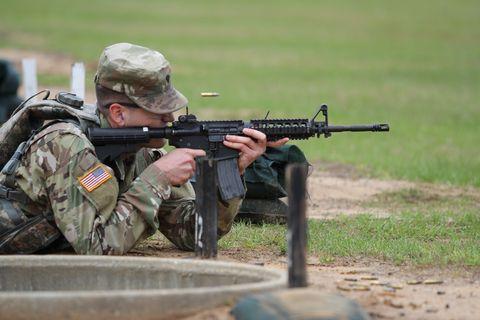 780 MI BDE BWC M4A1 Stress Shoot