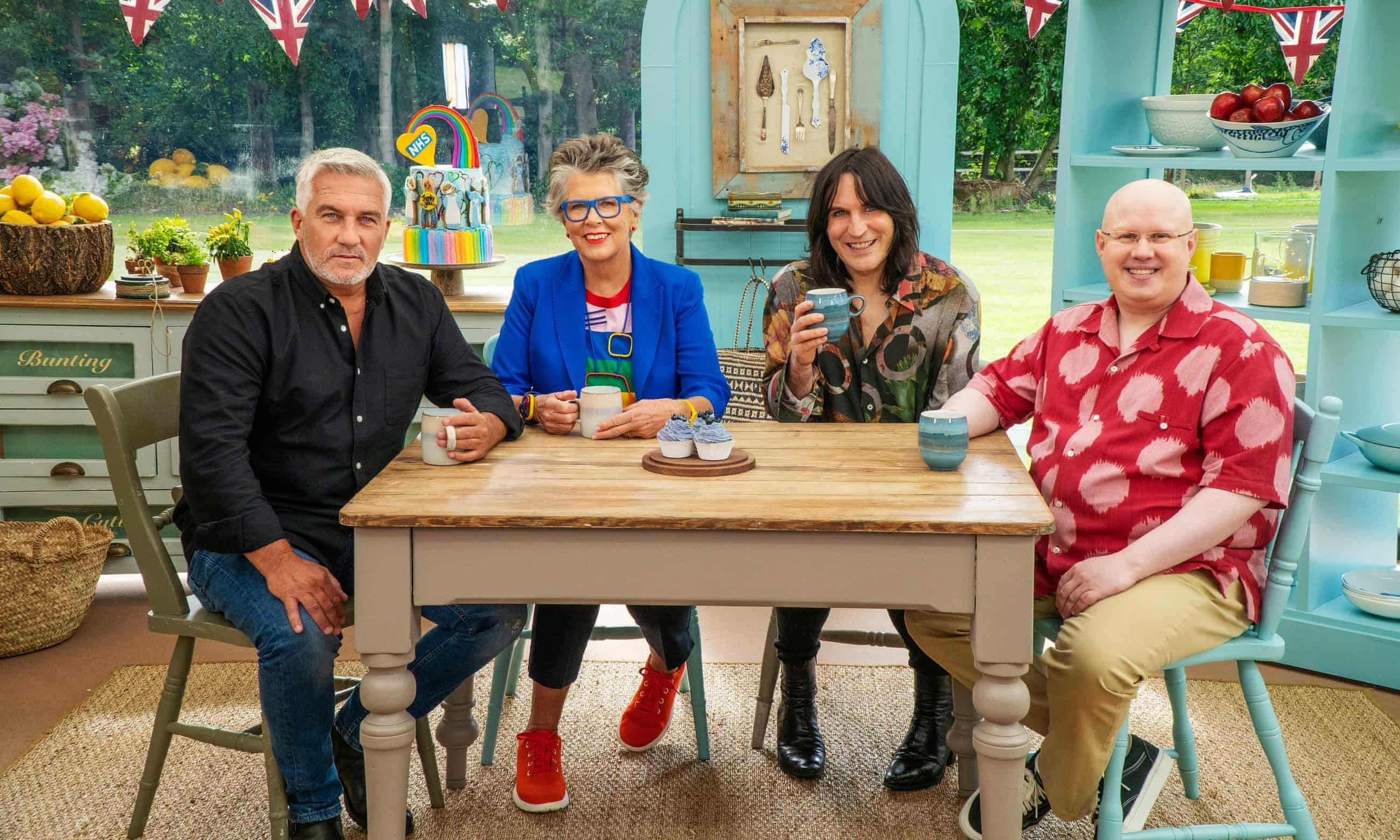 This Bake Off contestant is running the Virtual London Marathon next weekend