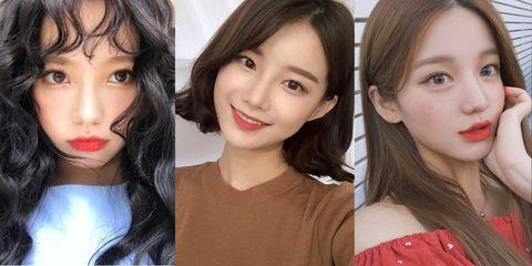Face, Hair, Lip, Eyebrow, Chin, Cheek, Nose, Hairstyle, Skin, Forehead,