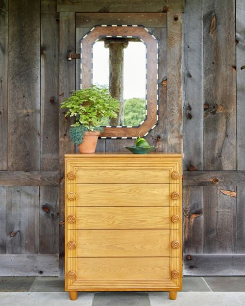 Furniture, Chest of drawers, Wood, Wood stain, Table, Dresser, Room, Mirror, Door, Drawer,