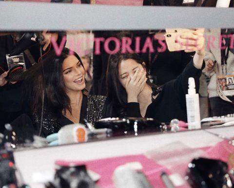 2018 維密大秀, Behati Prinsloo, Candice Swanepoel, Elsa Hosk, Bella Hadid, Gigi Hadid,  VSfashionshow, Victoria's Secret, 模特兒, 維多利亞的秘密, 維密天使, 維秘大秀, 何穗,奚夢瑤,劉雯,Kendall Jenner