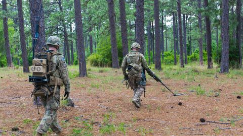 Soldier, Military, Army, Infantry, Military organization, Troop, Military camouflage, Biome, Military person, Marines,
