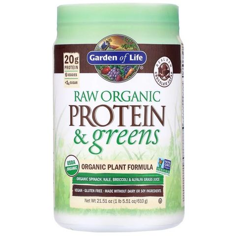「garden of life」raw protein  greens