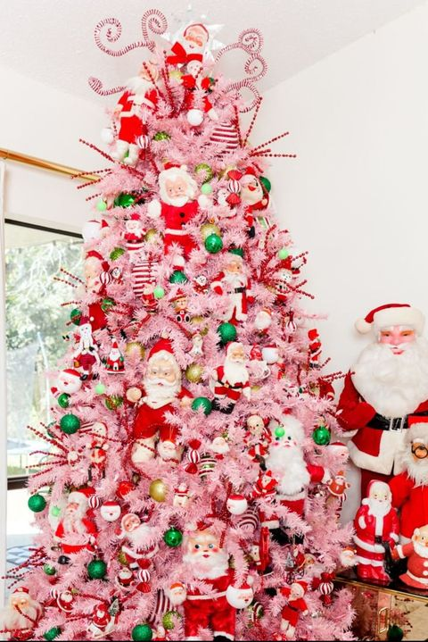Pink Christmas Trees.10 Best Pink Christmas Trees Gorgeous Pink Tree Ideas For