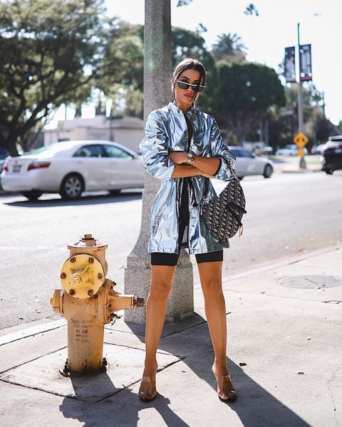 Street fashion, Photograph, White, Clothing, Fashion, Yellow, Snapshot, Sunglasses, Standing, Footwear,