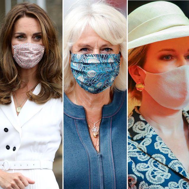 royals die hun mondkapjes in stijl dragen