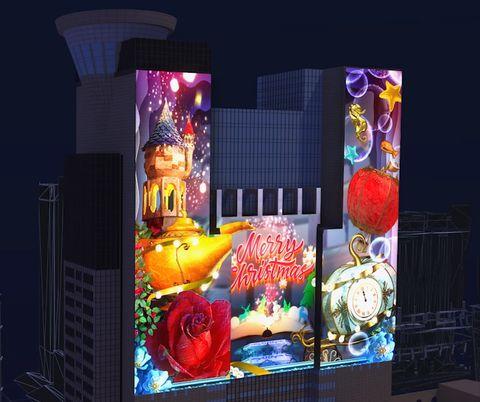 2020新北歡樂耶誕城10週年攜手「迪士尼」!公主光雕秀、滿滿經典角色元素⋯3大亮點必衝