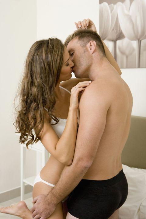 Blond, Interaction, Cheek, Neck, Long hair, Joint, Leg, Human body, Muscle, Hand,