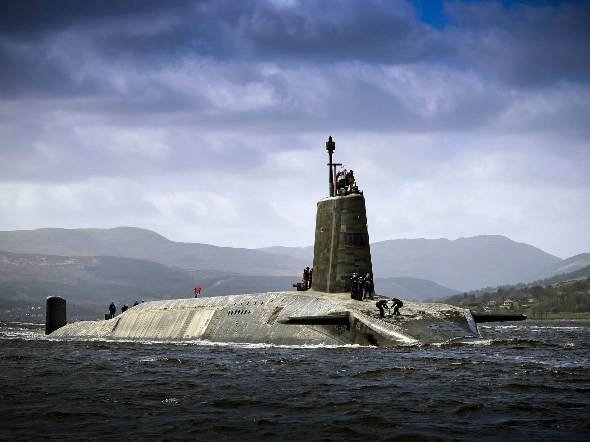 Nuclear Submarine Involved in A Near Miss With Car Ferry