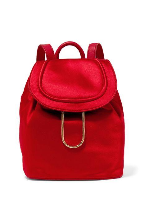 Bag, Handbag, Red, Fashion accessory, Shoulder bag, Magenta, Leather, Backpack, Luggage and bags, Satchel,