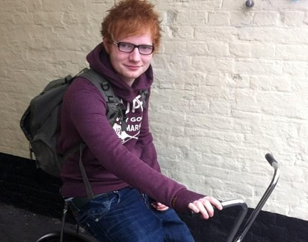 Ed Sheeran Bike