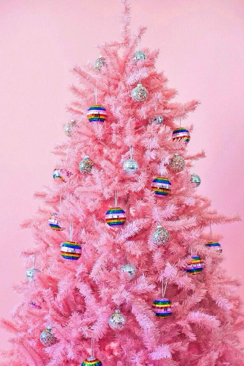 10 Best Pink Christmas Trees Gorgeous Pink Tree Ideas For The Holidays