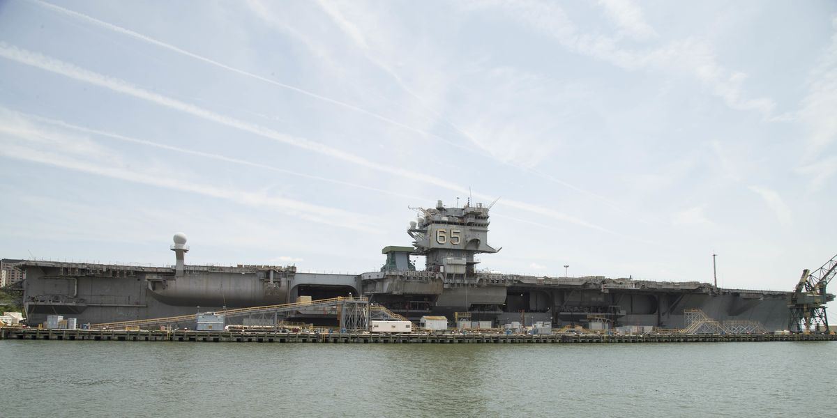 The U S Navy Is Having A Hell Of A Time Dismantling The