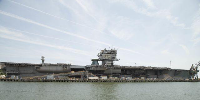 USS Enterprise Dismantling