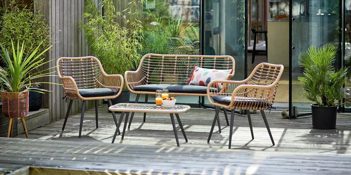 29 Rattan Garden Furniture Pieces For Summer 2021