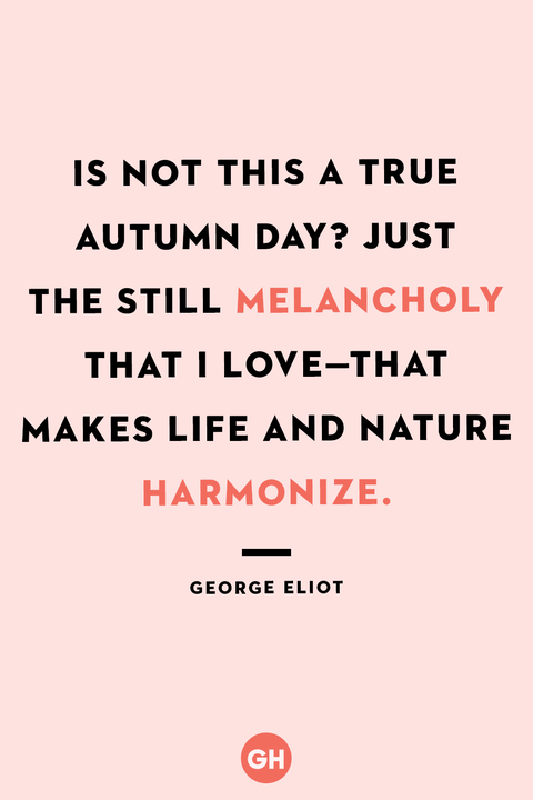 fall quotes   george eliot