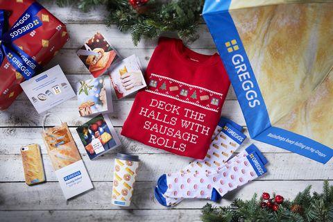 Greggs Christmas presents gifts
