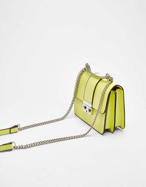 Bag, Handbag, Yellow, Fashion accessory, Shoulder bag, Satchel, Luggage and bags,