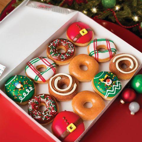 Food, Doughnut, Gingerbread, Dessert, Baked goods, Cuisine, Finger food, Petit four, Glaze, Confectionery,