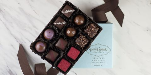 Chocolate, Food, Chocolate bar, Chocolate brownie, Honmei choco, Dessert, Cuisine, Square, Confectionery, Baked goods,