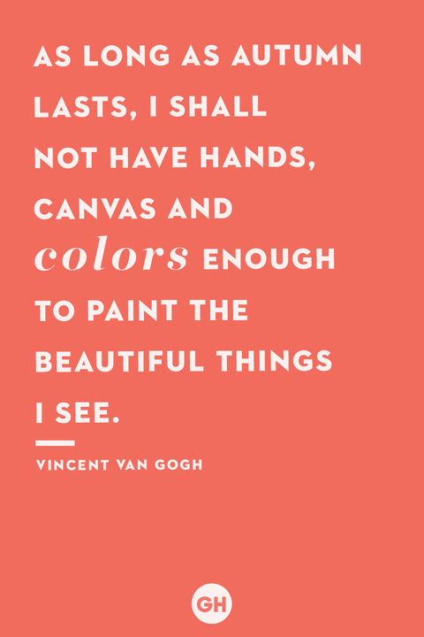 fall quotes   vincent van gogh