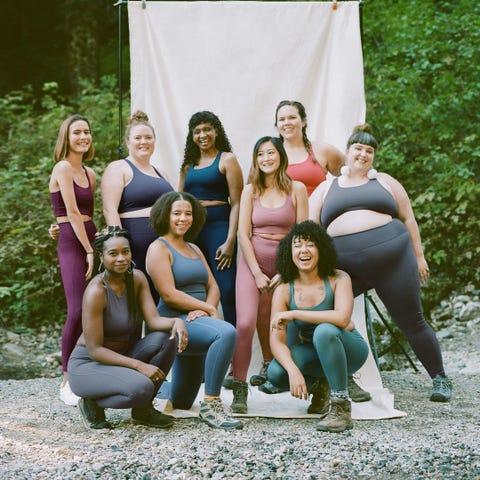 Girlfriend Collective nuevas tallas grandes.