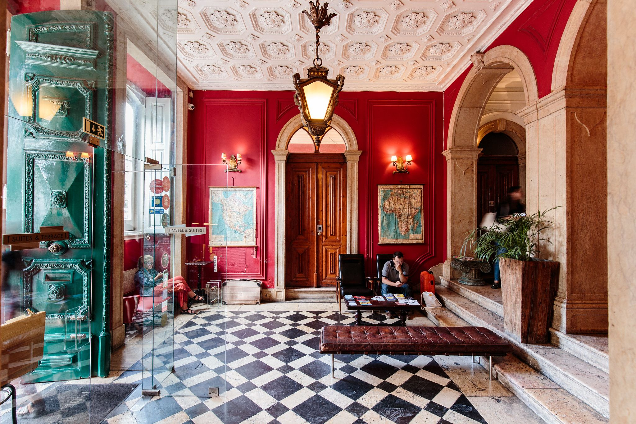 This £13-a-night Lisbon hostel is more like a palace