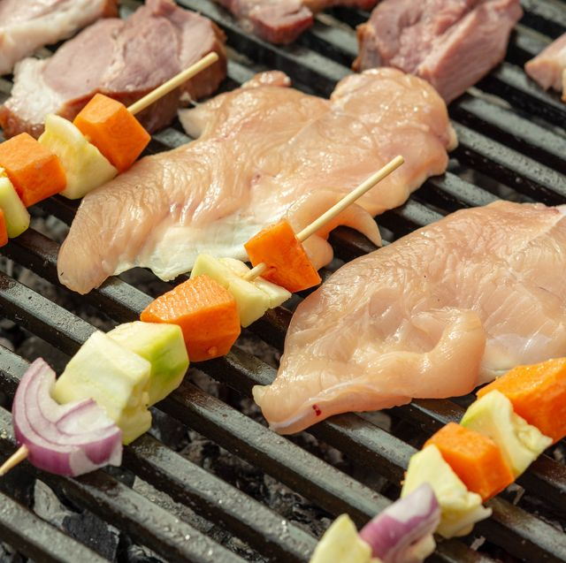 Food, Grilling, Dish, Cuisine, Barbecue, Barbecue grill, Ingredient, Outdoor grill, Samgyeopsal, Cooking,