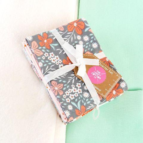 Complete Floral Quilt Kit