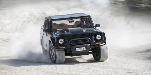 Lamborghini Lm002 History Remembering The Lamborghini Suv 4x4