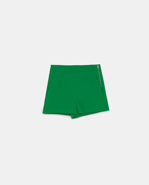 Green, Leaf, Shorts, Skort, Rectangle,