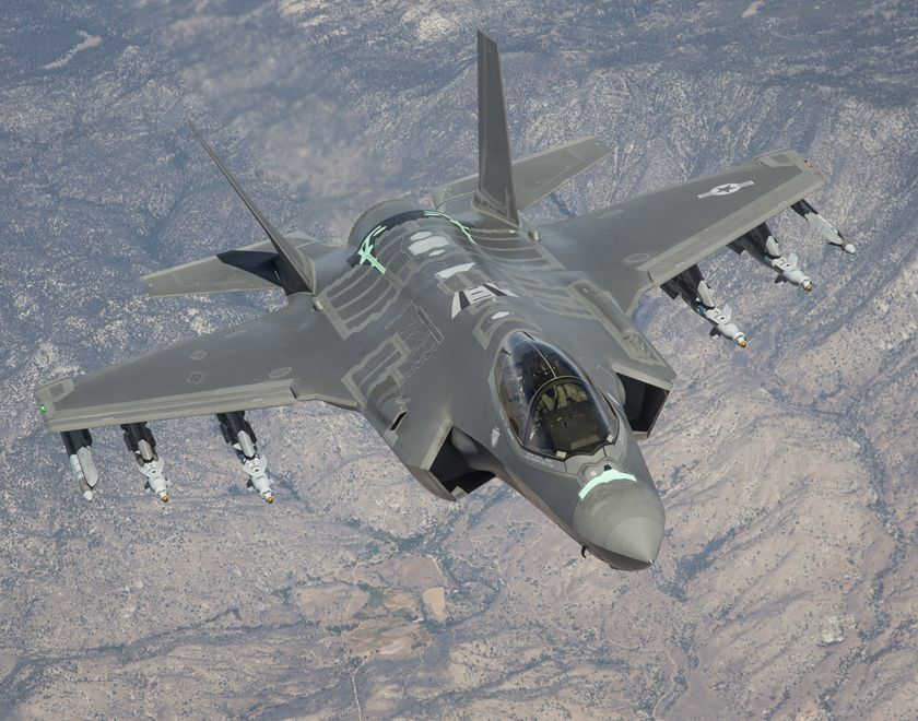 The Air Force Will Start Using F-35s to Simulate Stealth Enemy Aircraft