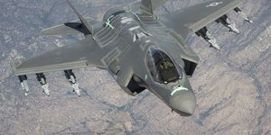 F-35s begin Auto GCAS test flights
