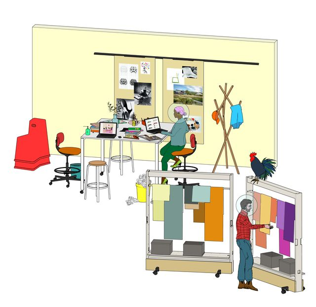 vitra, distributed work
