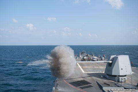 U.S. Navy Gunnery Exercise