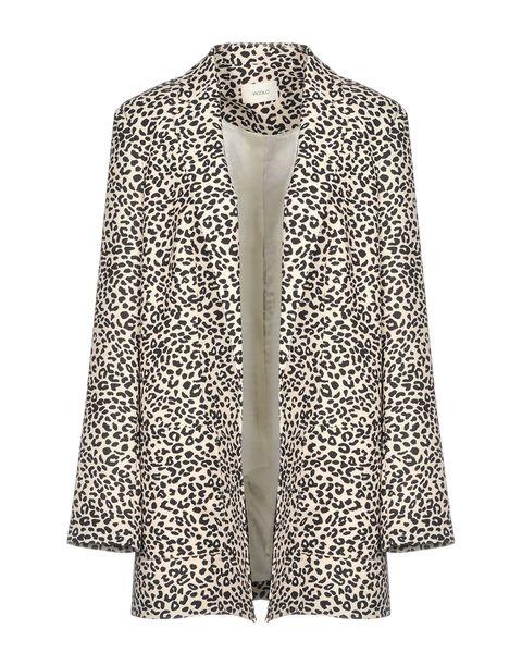 Clothing, Outerwear, Blazer, Sleeve, Jacket, Collar, Coat, Fur, Top, Beige,