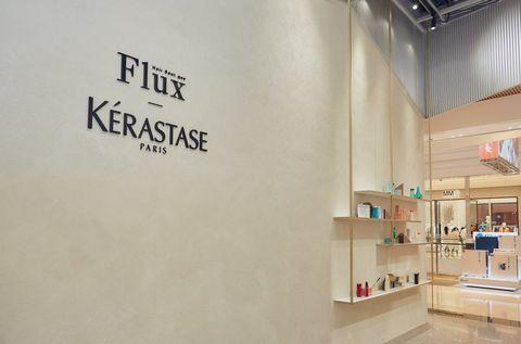 巴黎卡詩,flux,微風南山,沙龍,護髮療程,信義區髮廊,美髮,造型